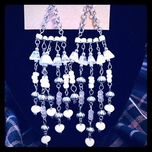 Eric Lyons Chandelier beaded earrings